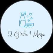2 Girls 1 Mop logo